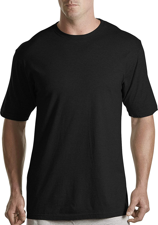 Harbor Bay by DXL Big and Tall 3-pk Color Crewneck T-Shirts