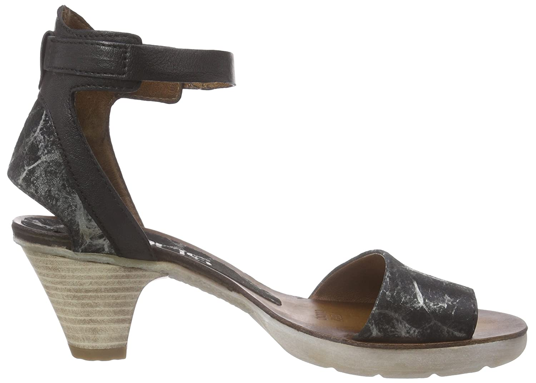 Mjus 588005-0102-6002, Damen Knöchelriemchen Sandalen, Schwarz (Nero), 40  EU: Amazon.de: Schuhe & Handtaschen
