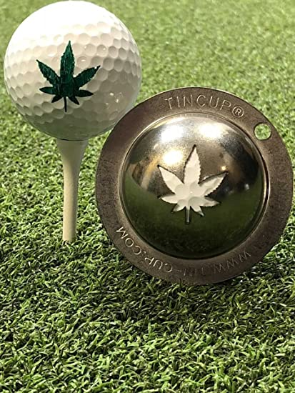 Amazon Com Marijuana Golf Leaf Stencil Sports Outdoors