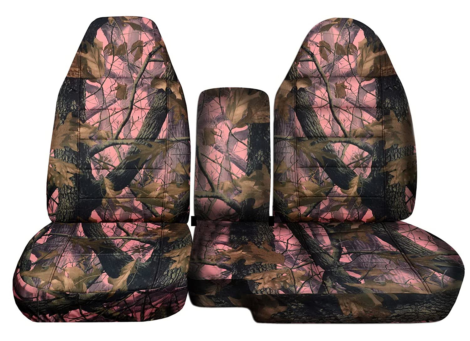 Navy Camouflage Designcovers 2004 to 2012 Ford Ranger 60-40 Camouflage Truck Seat Covers Solid Armrest Cover Included