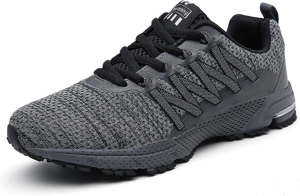 Sollomensi Sneakers Herren Damen Unisex Grau