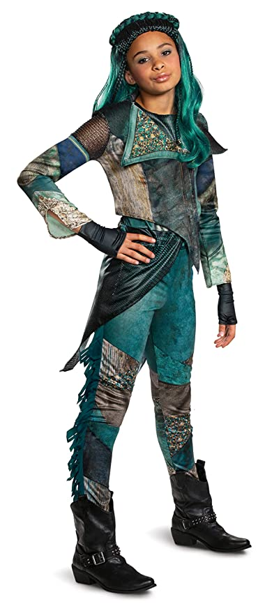 Amazon com: Uma Deluxe Descendants 3 Child Girl Costume Teal