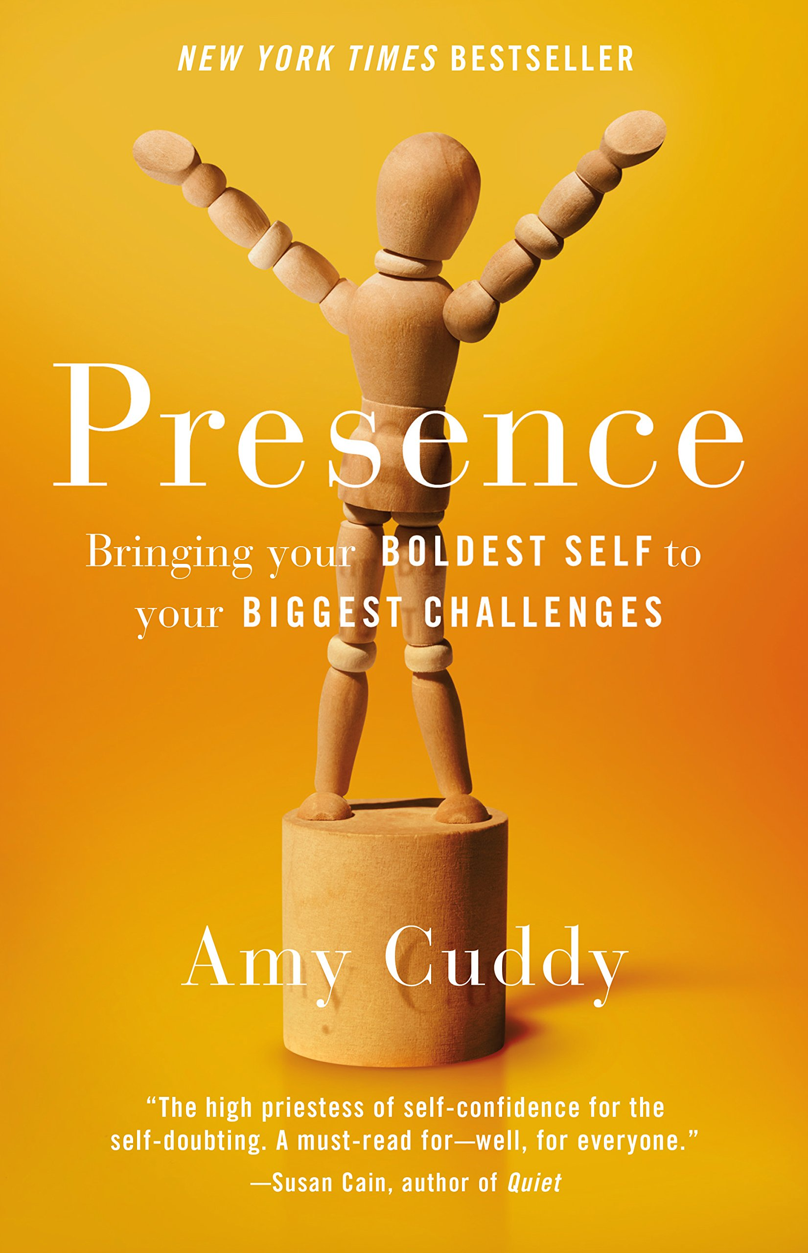 Presence: Bringing Your Boldest Self To Your Biggest Challenges: Amazon:  Amy Cuddy: Libri In Altre Lingue