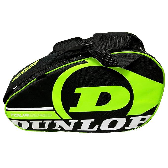 Dunlop Paletero de pádel Tour Intro Negro/Amarillo Flúor: Amazon ...
