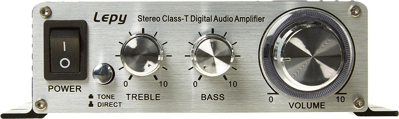 Lepy Lp 2024a Hi Fi Stereo Power Amplifier Digital Amplifier 3a Power Black Auto
