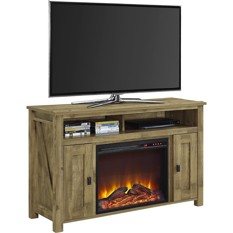 "Amazon Altra Furniture Farmington 50"" Media Heritage Light"