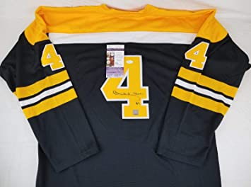 583f92aa9 Bobby Orr Signed Authentic Mitchell   Ness Bruins Vintage Jersey   GNR  COA s - JSA Certified