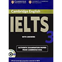 Cambridge English Ielts 3: with Answers with 2 Audio CDs