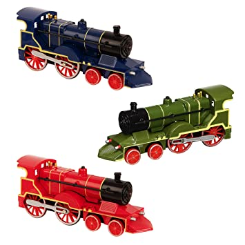 TEAMSTERS DIECAST TANK ENGINE STEAM TRAIN with SOUND /& LIGHTS toy tank engine