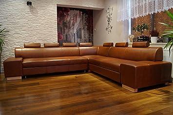 Ecksofa London Ii Re 7z 302 X 277 Echtleder Sofa Couch Mit
