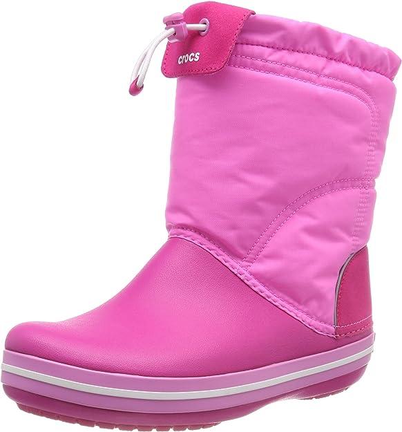 Crocs Unisex Kids' Crocband LodgePoint Boot Snow,Crocs,203509