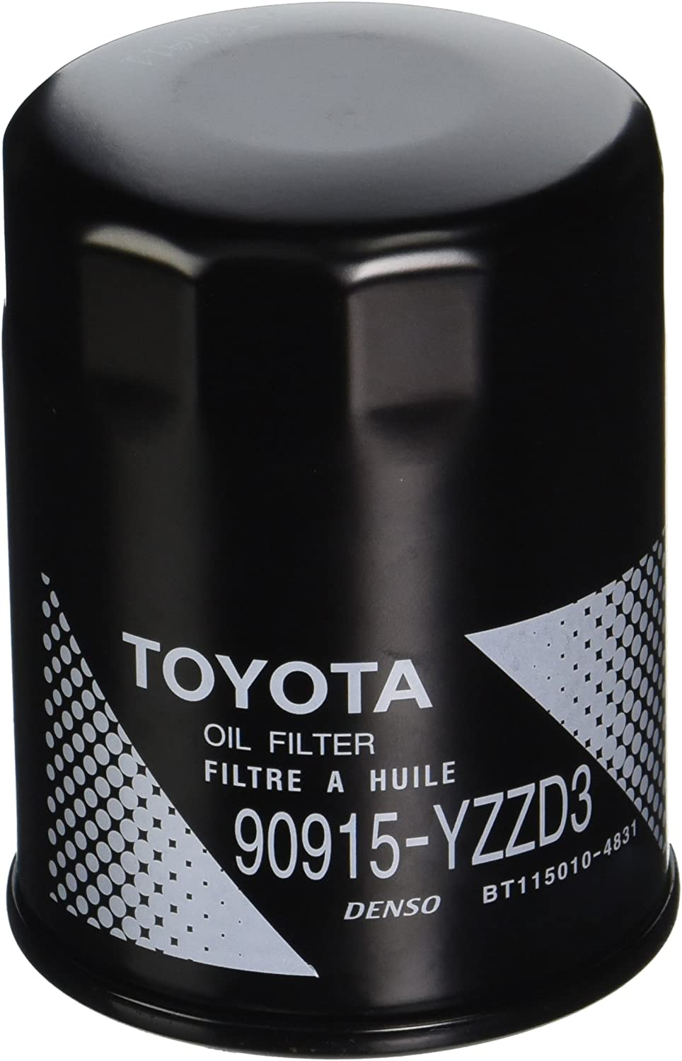 Toyota Oil Filter 3-Pack with Gaskets Genuine OE OEM 90915-YZZD3 /& 90430-12031