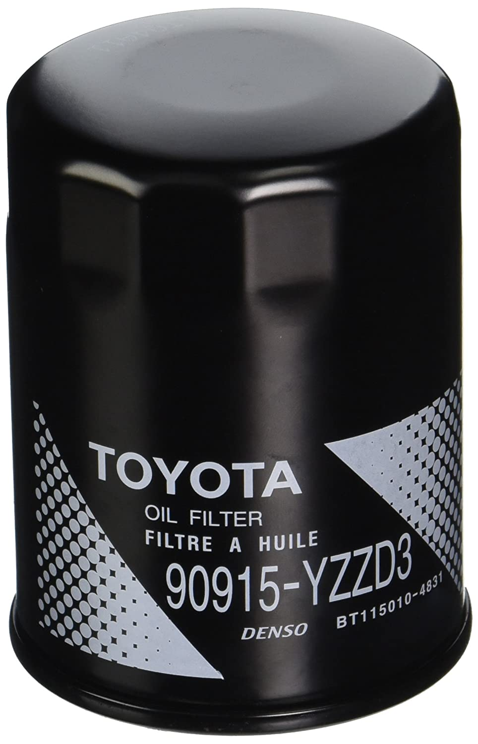 Toyota Genuine Parts 90915 Yzzd3 Oil Filter 1 2 Case 2010 Ford F 150 Fuel Wrench Qty 5 Automotive