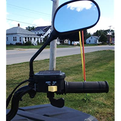 Rearview Mirrors Fits ATV: Automotive