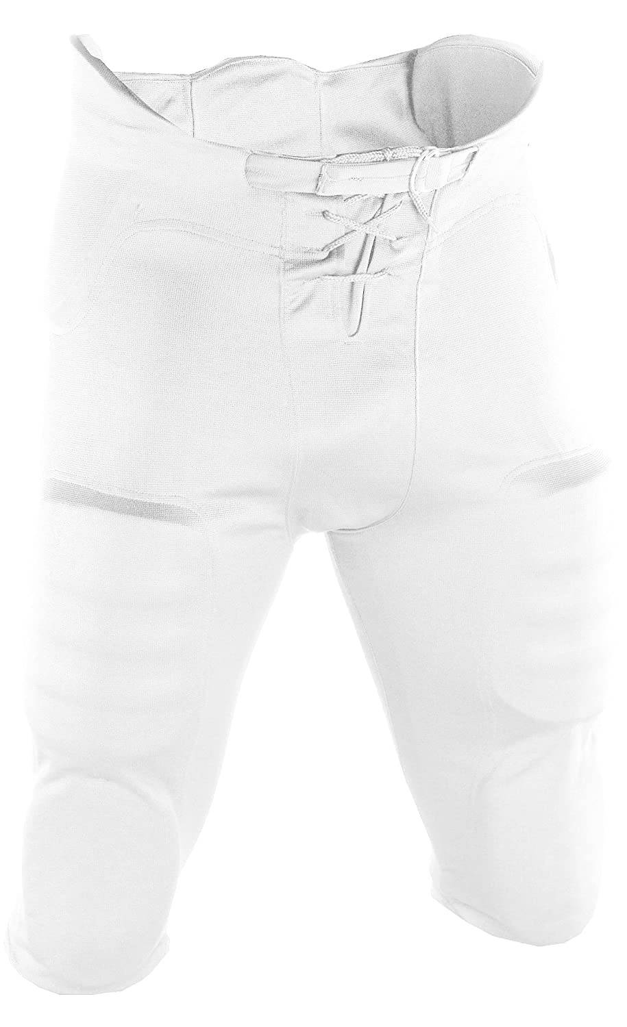 Adams USA Adult Pant Football with Pads FP-882-XL-W-P