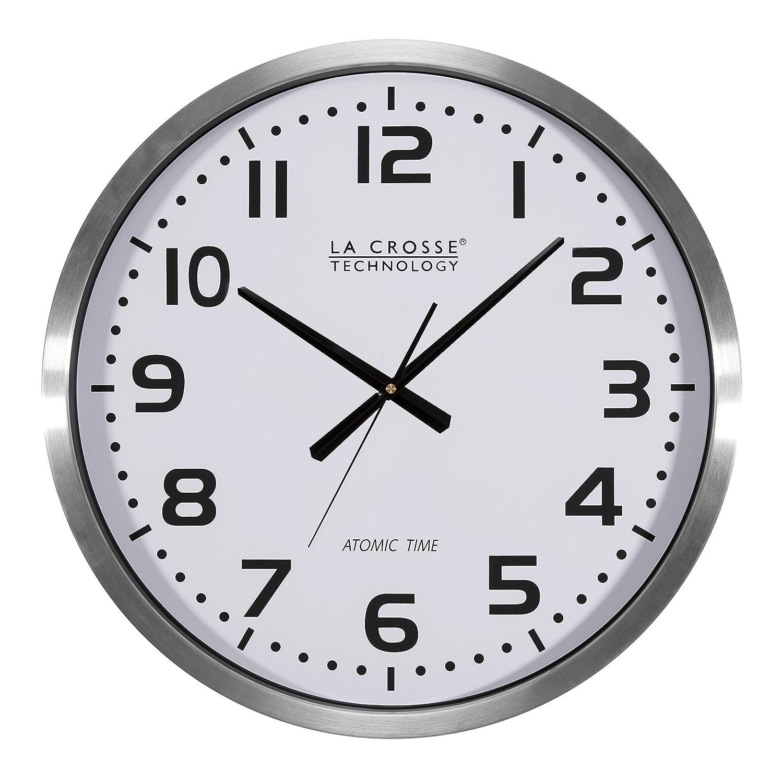 amazon com la crosse technology 404 1220 20 inch extra large atomic rh amazon com Skyscan Atomic Clock 88900 lacrosse technology atomic clock instructions