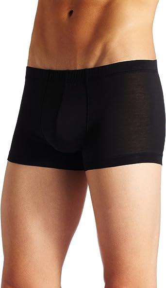 Hanro Cotton Sporty Calzoncillos, Negro (Black 0199), 7 (XL) para Hombre