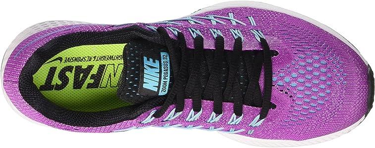 Nike Wmns Air Zoom Pegasus 32, Zapatillas de Running para Mujer, Morado (Hyper Violet/GMM Bl-White-Blk), 37 1/2 EU: Amazon.es: Zapatos y complementos