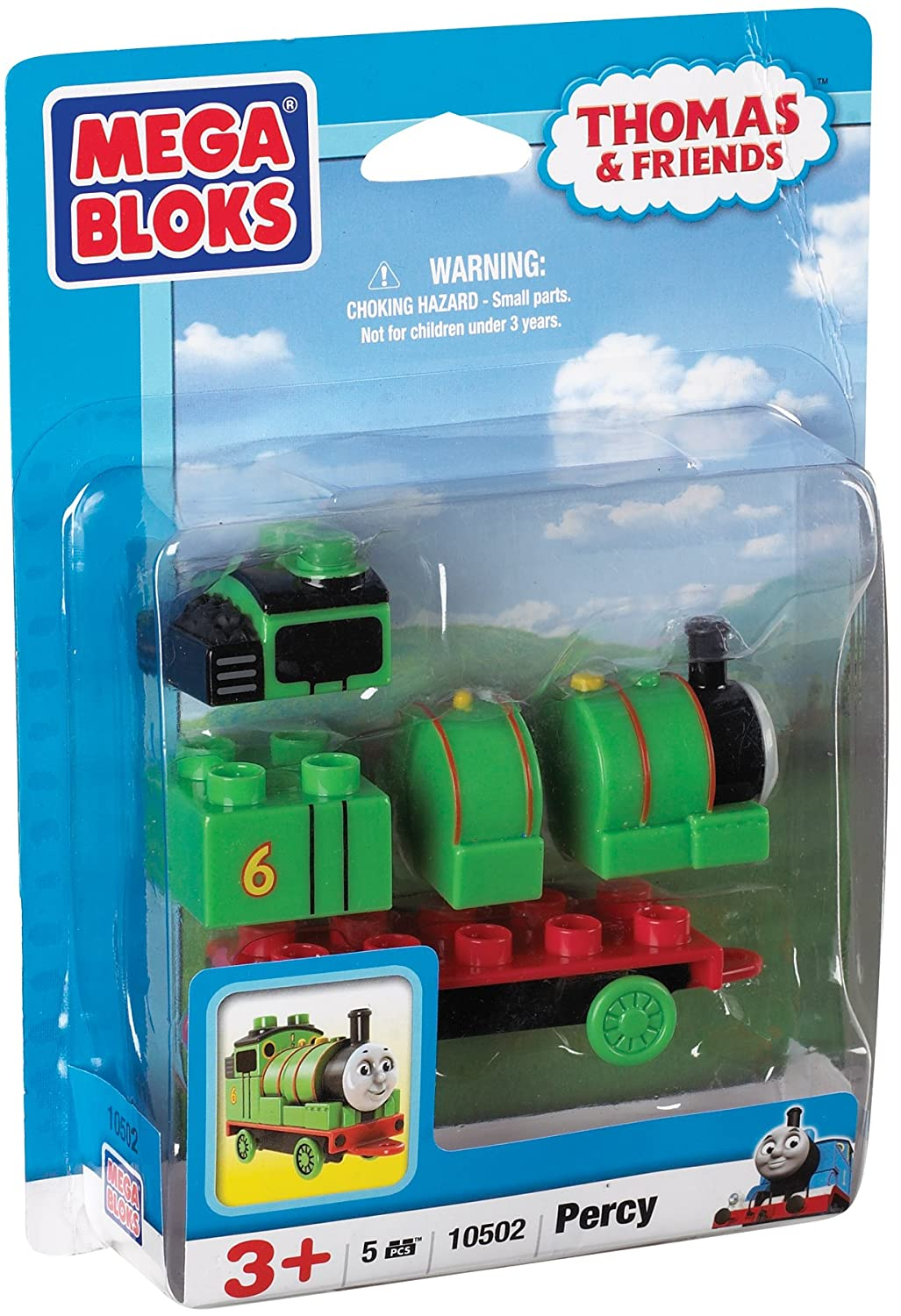 Mega Bloks Thomas And Friends 10502 Percy 5pc Character Engine Amazoncouk Toys Games