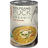 Wolfgang Puck Organic Corn Chowder, 14.5 Ounce (Pack of 12)
