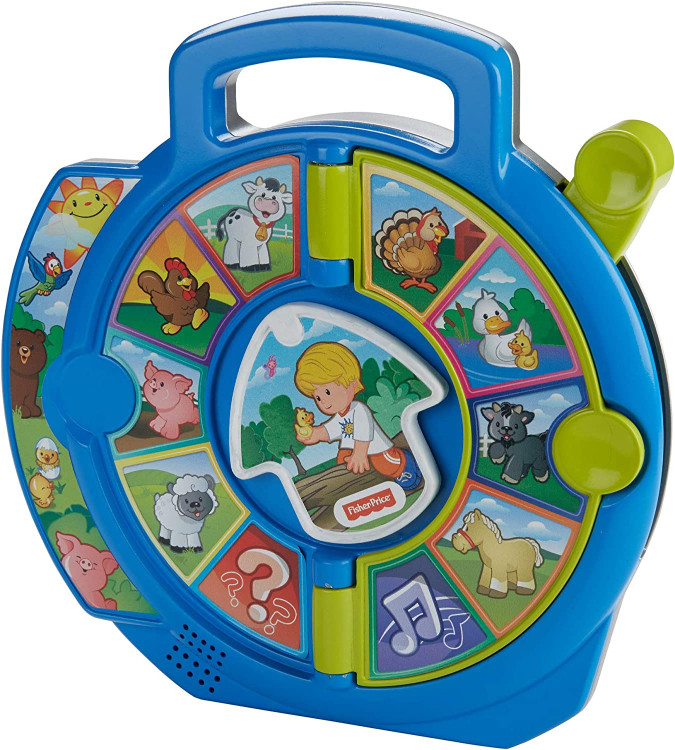 Fisher-Price Little People World of Animals See N Say: Amazon.es: Juguetes y juegos