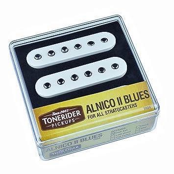 Juego de pastilla Tonerider Alnico II Blues para guitarras Stratocaster: Amazon.es: Instrumentos musicales