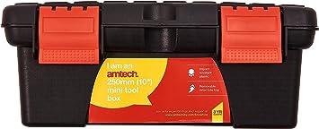 Am-Tech de 10 pulgadas mini caja de herramientas N0135: Amazon.es: Bricolaje y herramientas