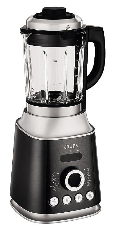 Krups KB852E Batidora de vaso 2L 1300W Negro, Plata - Licuadora (2 L, Giratorio, 30000 RPM, Batidora de vaso, Negro, Plata, 1300 W): Amazon.es: Hogar