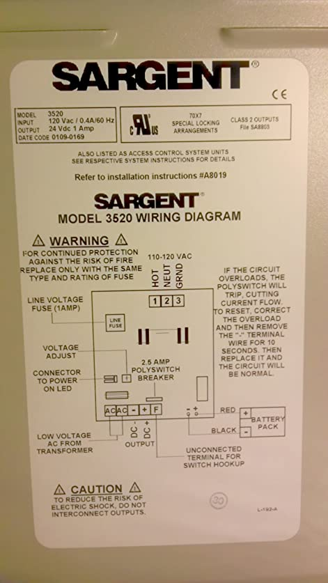 Amazon Sargent 3520 Power Supply Cell Phones Accessories