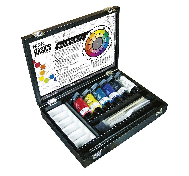 Liquitex MID(G16,7,5) - Estuche de pinturas acrílicas (75 ml ...