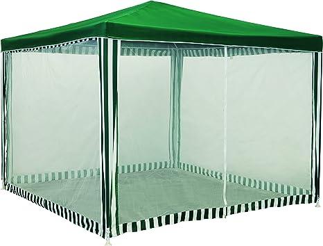 Wolder Brico Carpa mosquitera Desmontable, Verde, 3 x 3 x 2.4 m
