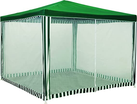 Wolder Brico Carpa mosquitera Desmontable, Verde, 3 x 3 x 2.4 m ...