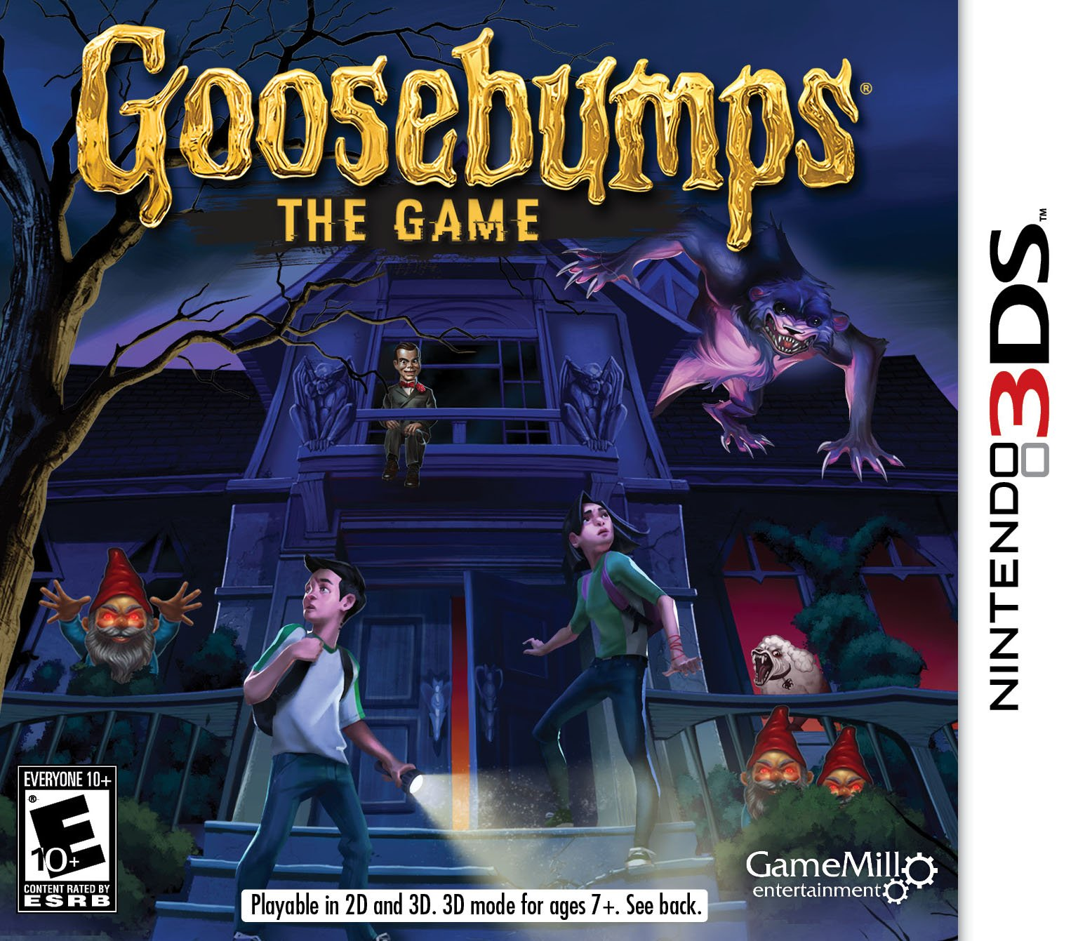 Goosebumps the Game 3DS - Nintendo 3DS