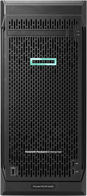 HP ProLiant ML110 G10 4.5U Tower Server - 1 x Intel Xeon Silver 4110 Octa-core (8 Core) 2.10 GHz - 16 GB Installed DDR4 SDRAM -
