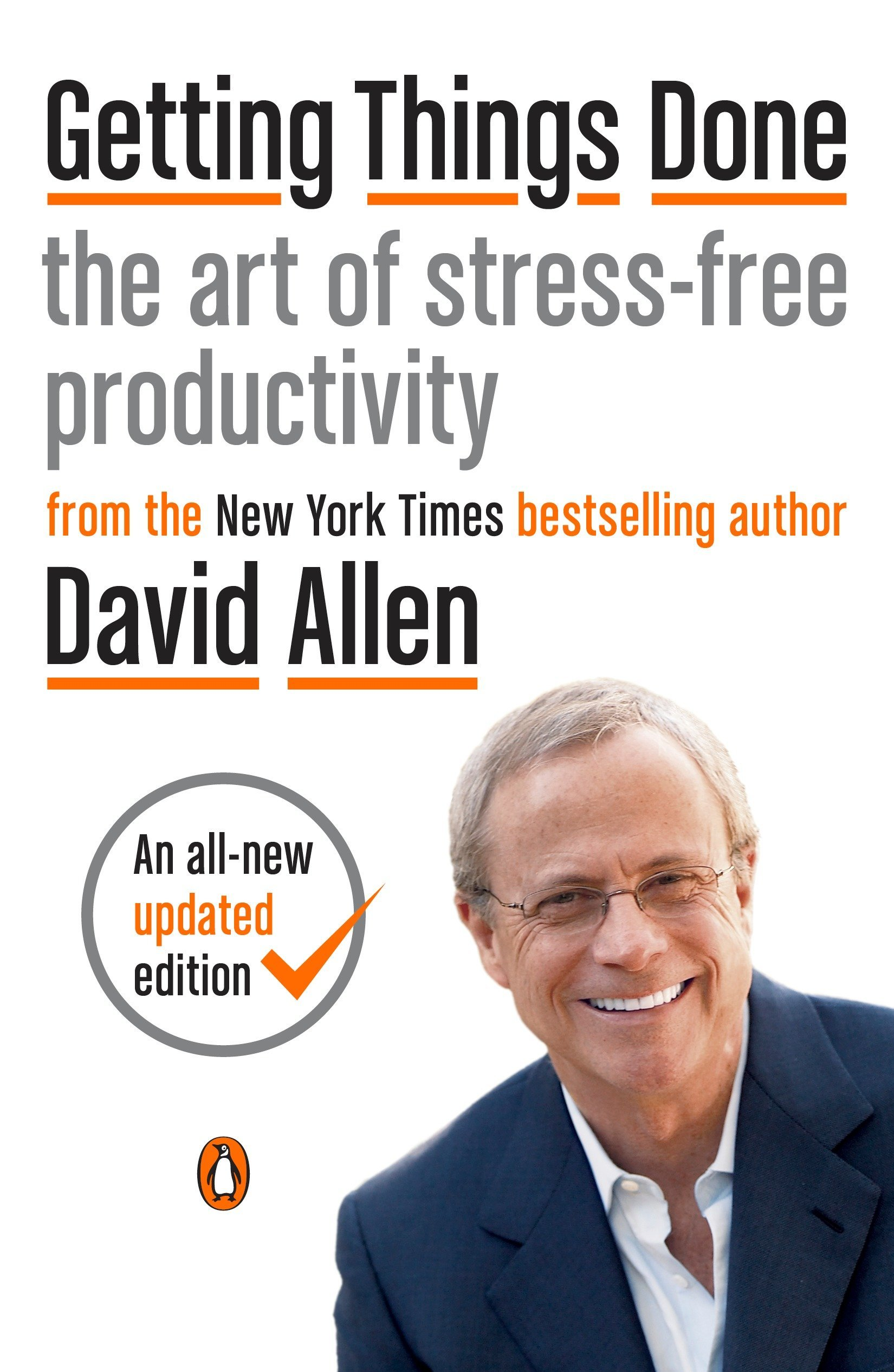 Getting Things Done: The Art of Stress-Free Productivity Copertina flessibile – 17 mar 2015 David Allen James Fallows Penguin Group USA 0143126563
