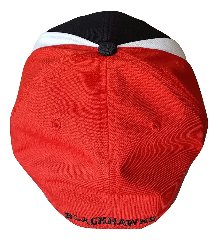 Reebok Chicago Blackhawks Structured Flex Hat OSFA MZ337