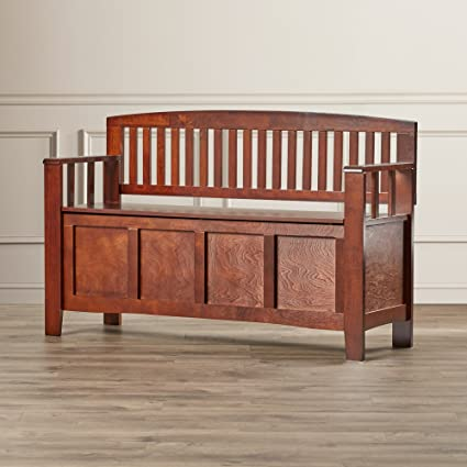 Amazon.com: Entryway Bench With Shoe Storage - Lift Up Seat ...