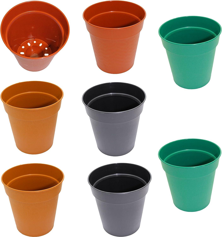 Casolly Ceramics Planter Pots,6 Pack