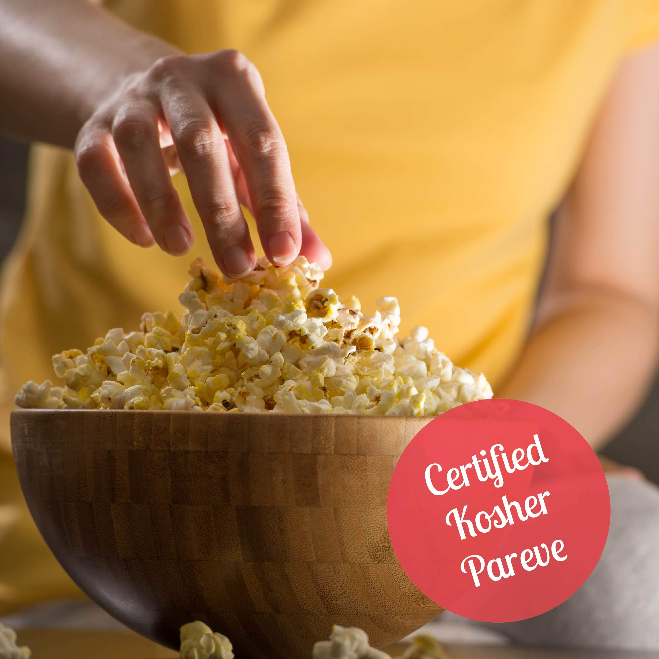Wabash Valley Farms Real Theater Popcorn Popping Kit - Each Popping Corn Set Includes Gourmet Movie Theater Popcorn, Buttery Salt, and Popping Oil - Perfect for Movie Nights and More - 20 Pack by Wabash Valley Farms (Image #1)