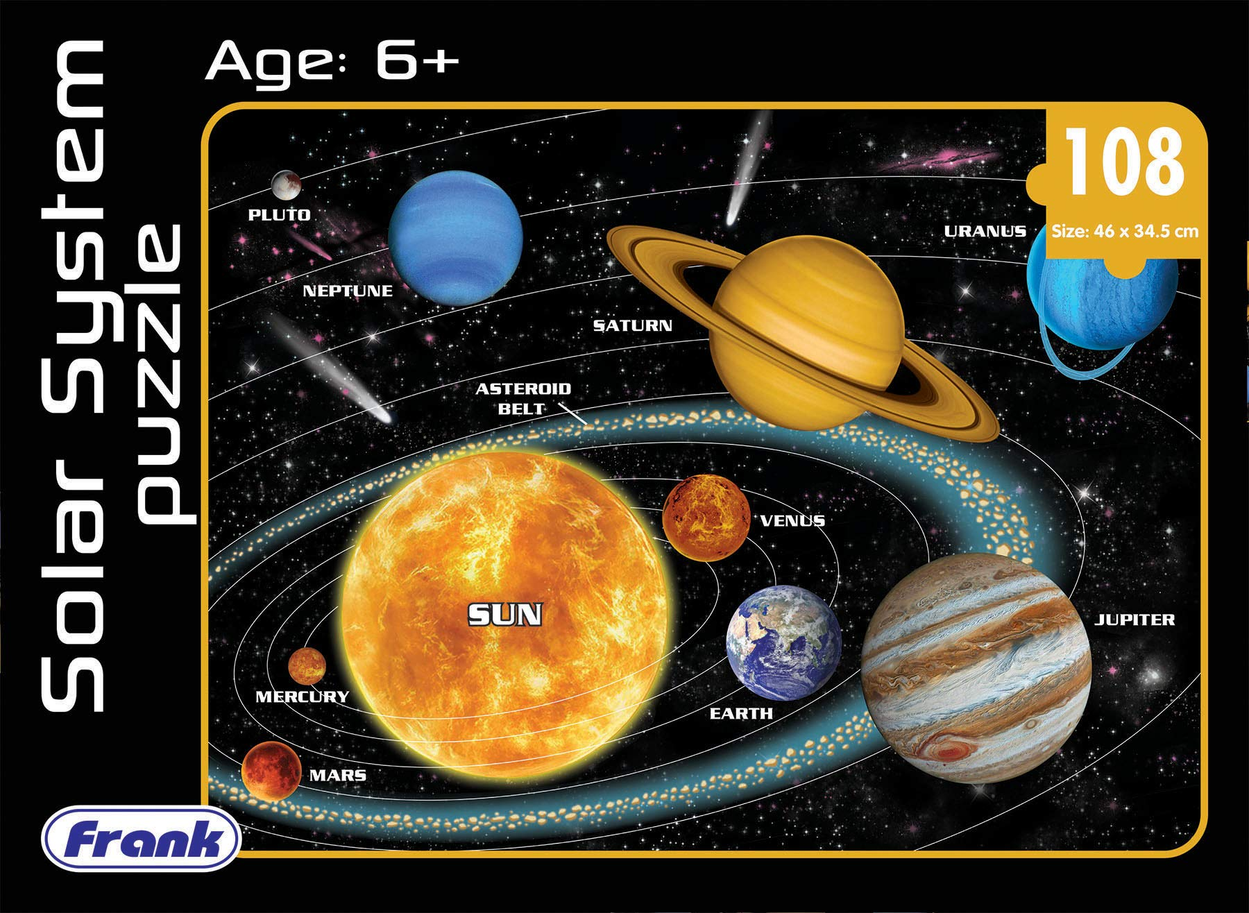 Frank  Solar System  Puzzle For 6 Year Old Kids And Above product image
