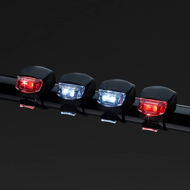 FFEXS Luces Bicicleta LED Bike Lights LED Set Luz Bici Frontal y Trasera