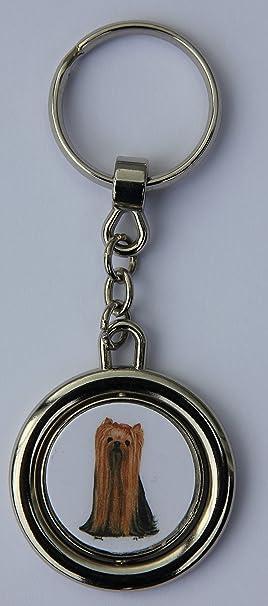 Llavero Perro - Yorkshire Terrier [s003]: Amazon.es: Hogar