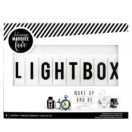 Heidi Swapp Light Box By American Crafts | 13 X 10 Inch White Cinematic Lightbox by American Crafts
