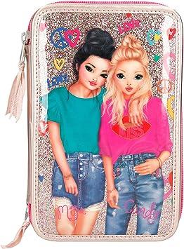 8273 A Estuche Triple Top Model Rosa Metalizado: Amazon.es: Juguetes y juegos