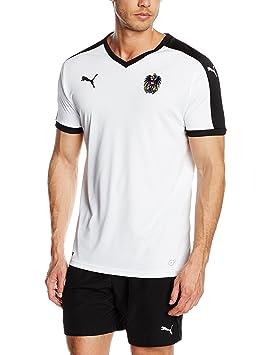 Puma para Hombre Camiseta de fútbol réplica de la Camiseta Visitante Goldmünzen: Amazon.es: Deportes y aire libre