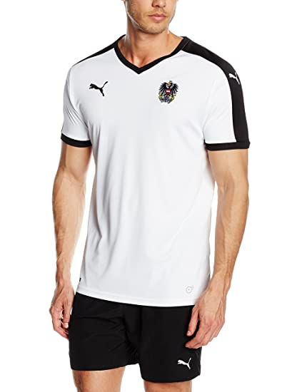sale retailer 51eb3 4672a PUMA 2016-2017 Austria Away Football Shirt
