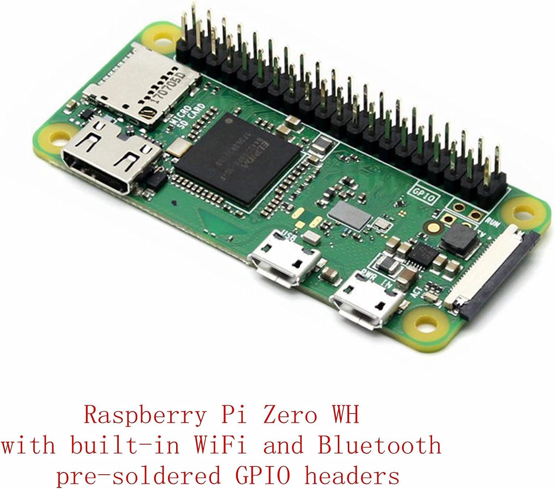 Original Raspberry Pi Zero W 1GHz ARM11 512MB RAM Built-in WiFi /& Bluetooth USB