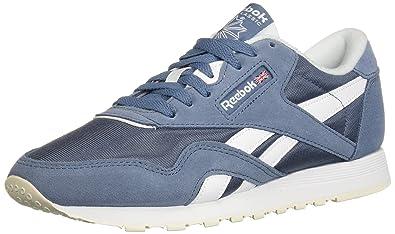 30da1df1d2 Reebok Women's Classic Nylon Walking Shoe, MUTEDBERRIES-Blue Slate/W, 7 M US