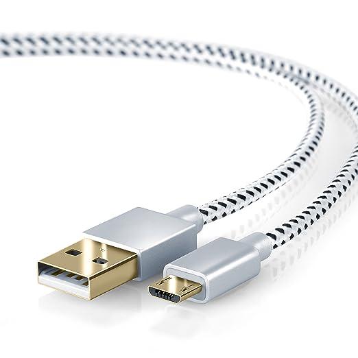 429 opinioni per CSL- 1m Cavo Micro USB a USB nylon