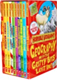 Horrible Geography Collection 10 Books Box Gift Set Pack by Anita Ganeri RRP: £59.90 (Bloomin Rainforests, Cracking Coasts, Desperate Deserts, Earth-Shattering Earthquakes, Freaky Peaks, Monster Lakes, Odious Oceans, Raging Rivers, Stormy Weather, Violent Volcanoes)